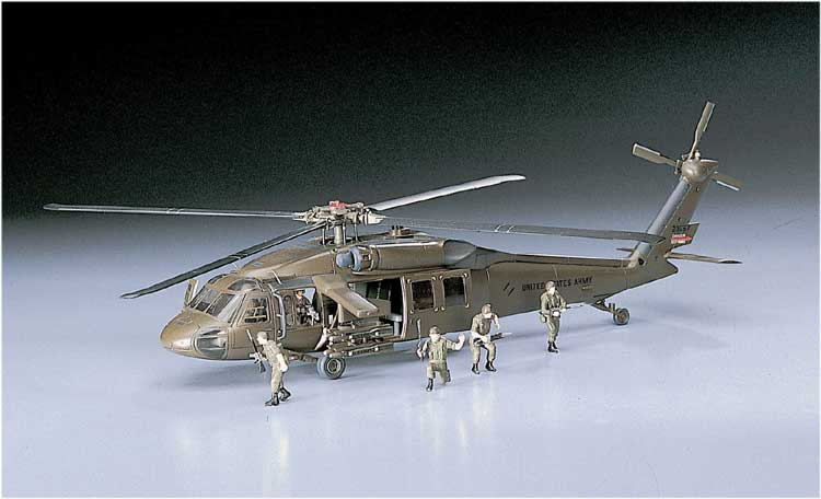 UH-60A BLACK HAWK (D3) 1/72