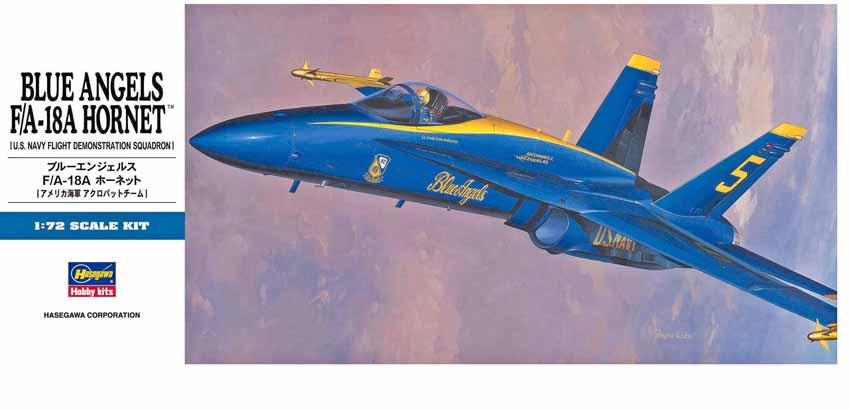 BLUE ANGELS F/A-18A HORNET 1/72