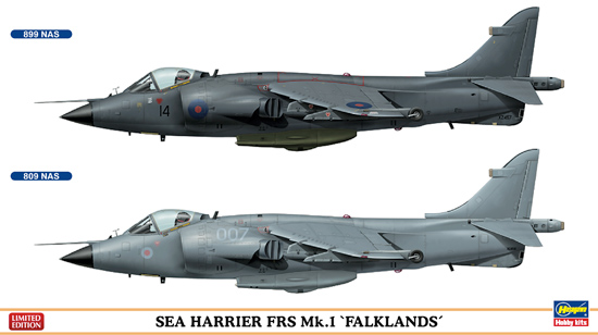 Combo Sea Harrier 1/72