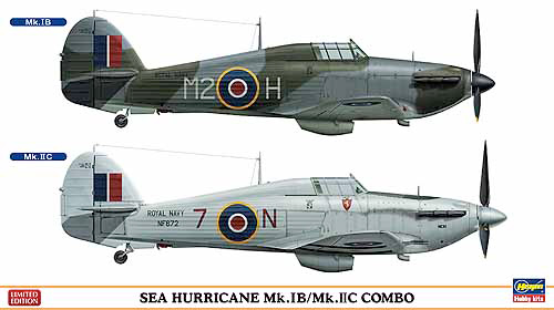 Combo Sea Hurricane 1/72