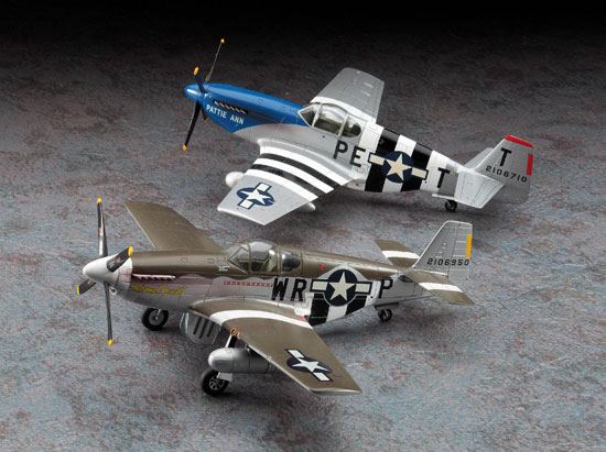 Combo P-51B D DAY 1/72