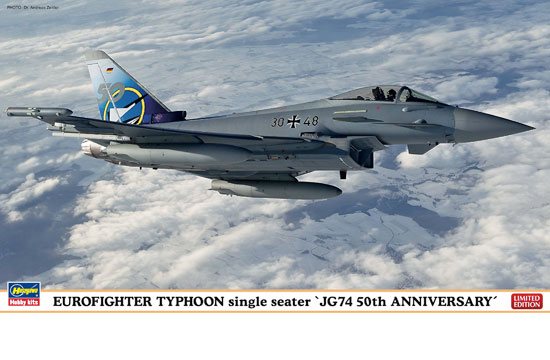 Eurofighter Typhoon JG74 1/72