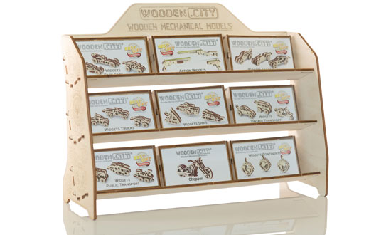 Assortiment Implantation WOODEN CITY