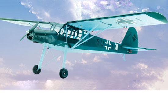 Fieseler Storch Fi156 kit ailes mousse coffrées