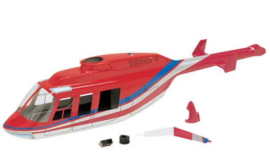 Fuselage Long Ranger Rouge