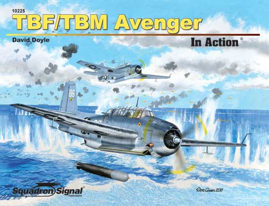 TBF / TBM AVENGER - IN ACTION