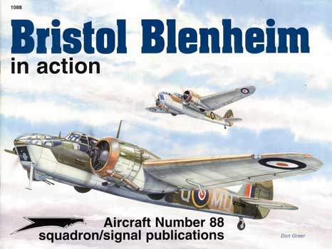 BRISTOL BLENHEIM IN ACTION