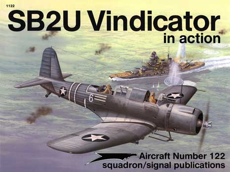 SB2U VINDICATOR IN ACTION
