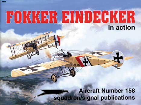 FOKKER EINDECKER IN ACTION