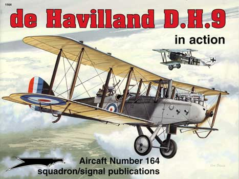 DE HAVILLAND DH-9 IN ACTION