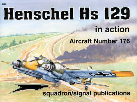 HENSCHEL HS 129 IN ACTION