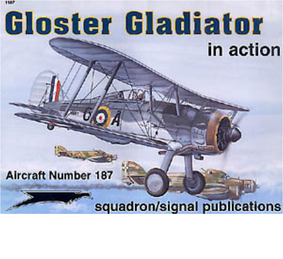 GLOSTER GLADIATOR IN ACTION