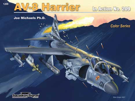 HARRIER COLOR IN ACTION