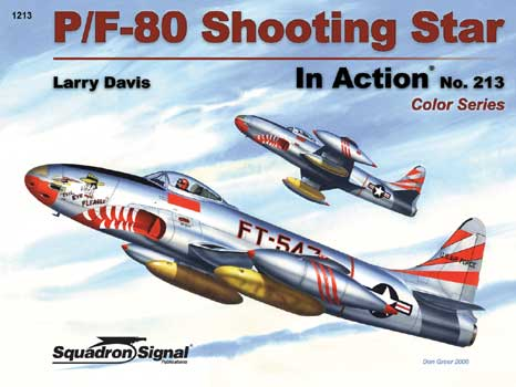 P-80 SHOOTING STAR COLOR IN ACTION