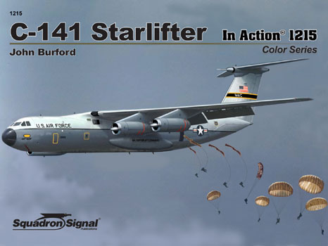 C-141 STARLIFTER COLOR IN ACTION