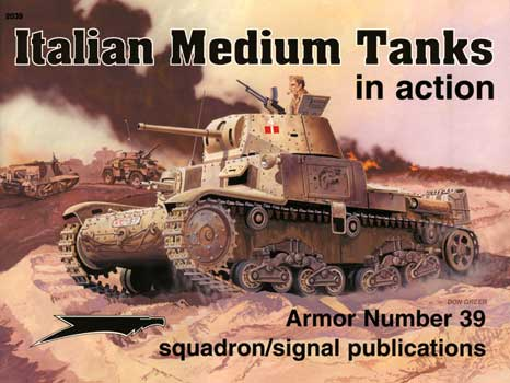 ITALIAN MEDIUM TANKS IN ACTION