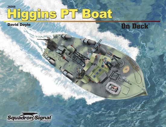 HIGGINS PT BOAT ON DECK - Softcover
