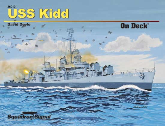USS KIDD ON DECK - Softcover