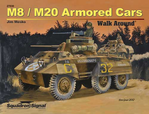 M8/M20 ARMORED CAR WALK AROUND