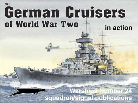 GERMAN CRUISERS WWII IN ACTION