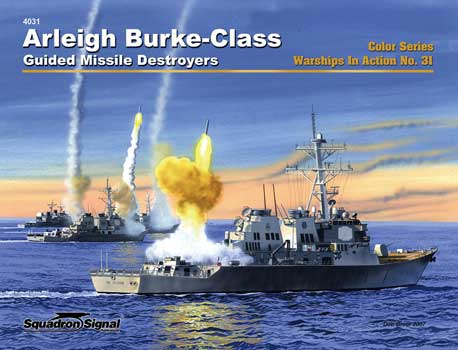ARLEIGH BURKE DESTROYERS COLOR IN ACTION