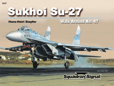 SUKHOI Su-27 WALK AROUND