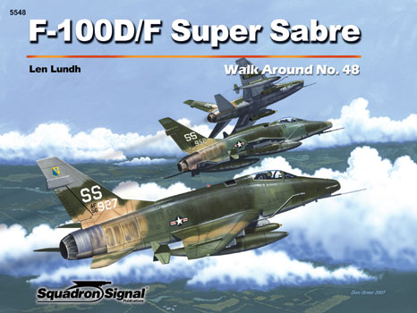 F-100D/F SUPER SABRE WALK AROUND