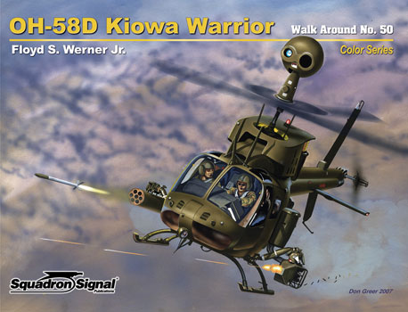 OH-58D KIOWA WARRIOR COLOR WALK AROUND