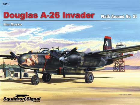 DOUGLAS A-26 WALK AROUND