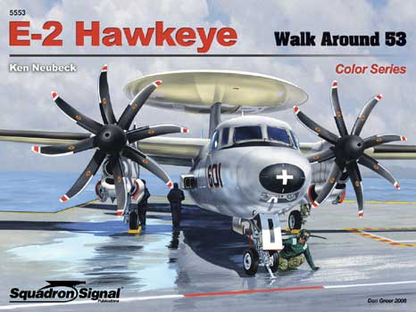 E-2 HAWKEYE COLOR WALK AROUND