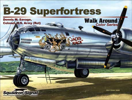 B-29 SUPERFORTRESS COLOR WALK AROUND