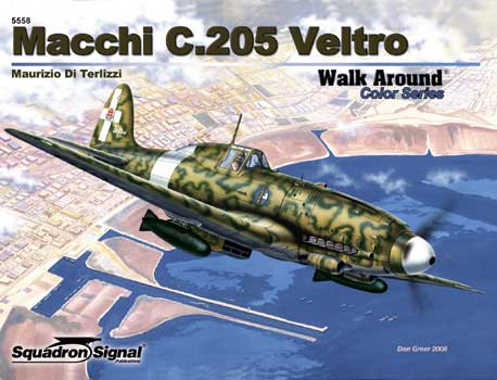 MACCHI C.205 COLOR WALK AROUND