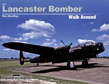 LANCASTER BOMBER WALK AROUND
