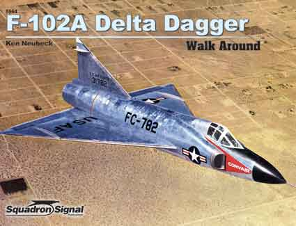 F-102A DELTA DAGGER WALK AROUND