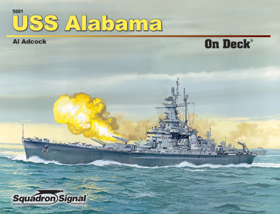 USS ALABAMA ON DECK