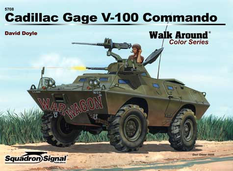 CADILLIC GAGE V-100 COLOR WALK AROUND