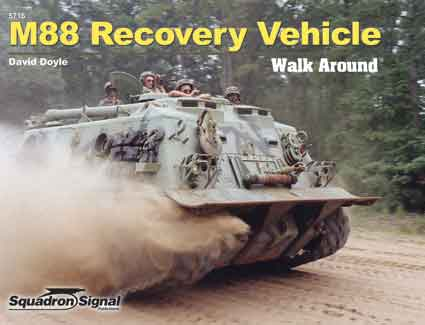 M88 ARMORED RECOVERY VEHICLE WALK AROUND