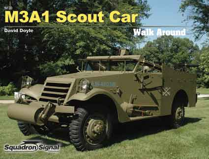 M3A1 SCOUT CAR WALK AROUND