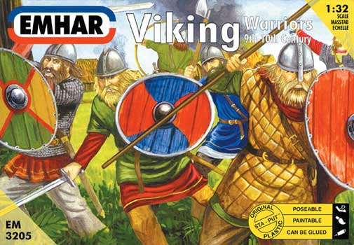 VIKINGS WARRIORS (12)     1/32