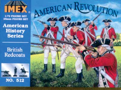 BRITISH REDCOATS          1/72