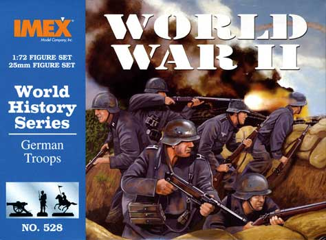 WWII GERMANS            1/72