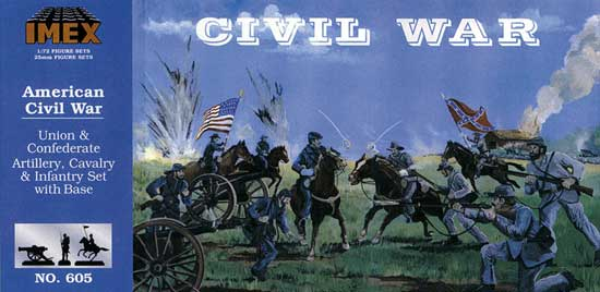 DIORAMA US CIVIL WAR           1/72