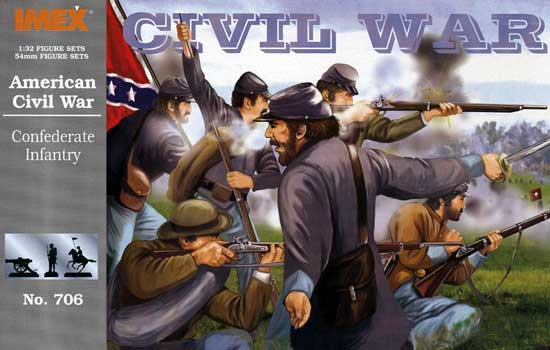 US CONFEDERATE INFANTRY      1/32