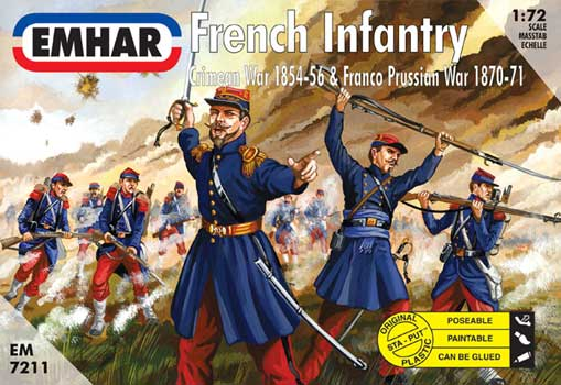 FRENCH INFANTERIE CRIMEE   1/72