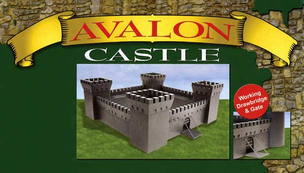 CHATEAU AVALLON TOURS CARREES     1/72