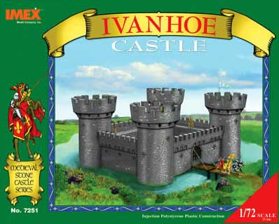 CHATEAU IVANHOE TOURS RONDES       1/72