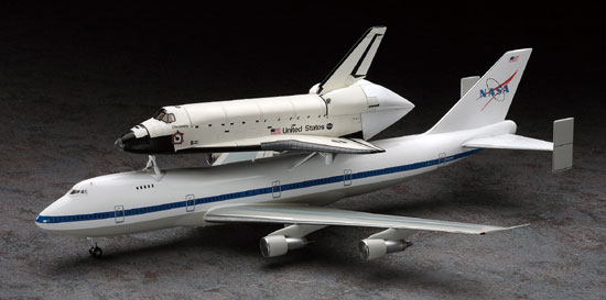 SPACE SHUTTLE  & BOEING 1/200