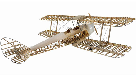 De Haviland DH82a Tiger Moth Kit échelle 1:3.8