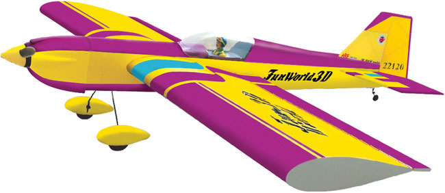 FUN WORLD 3D - 120R VIOLET ARF