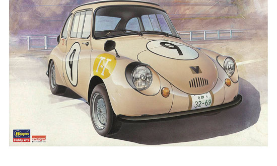 SUBARU 360 1964 2nd JAPAN GP T-I CLASS WINNER